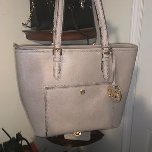 MK authentic snap front tote